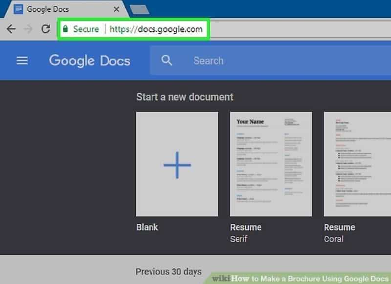 How To Make A Flyer On Google Docs Tech For Life