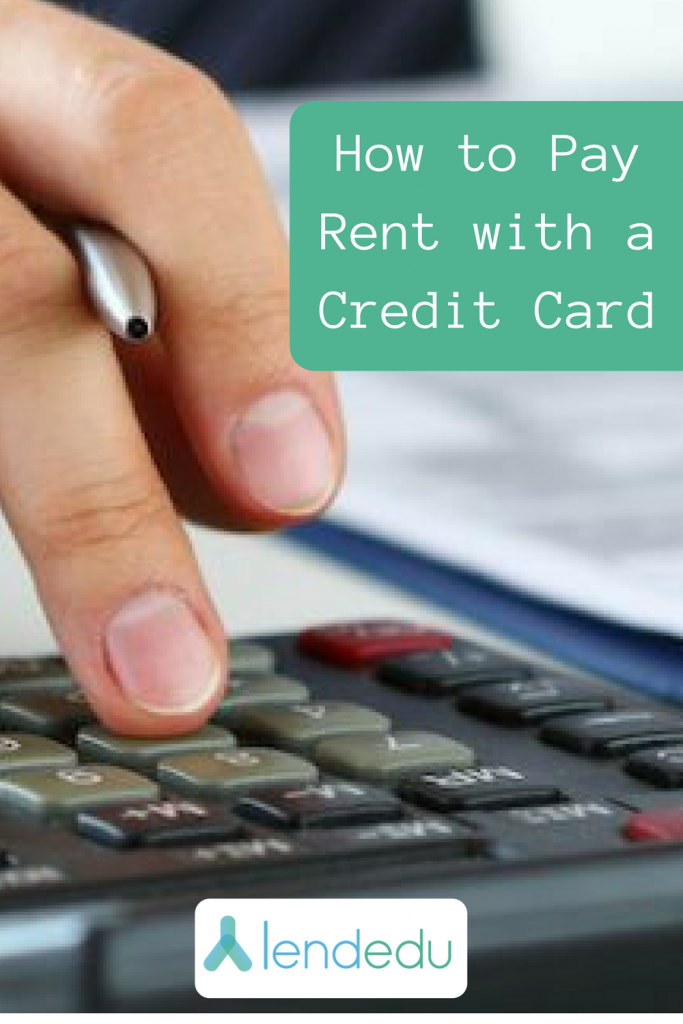 How To Pay Rent With A Credit Card American Express