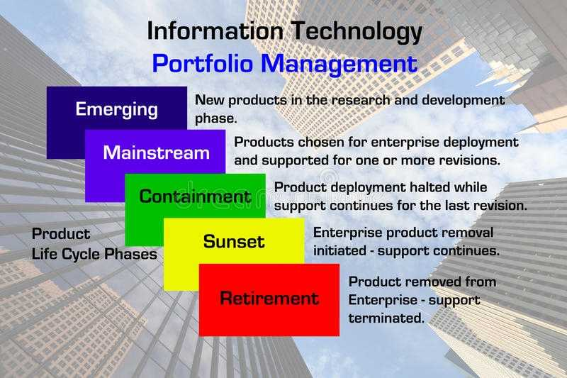 Information Technology Portfolio Management Stock