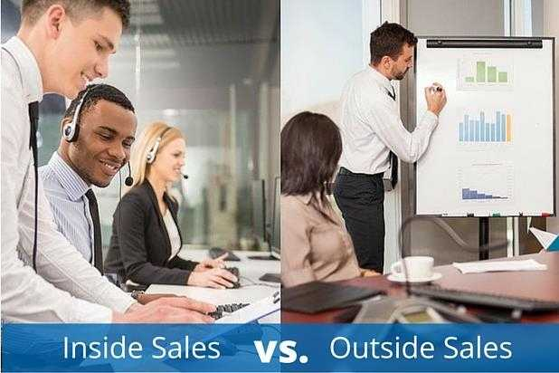 Inside Sales Vs Outside Sales Sales Career Path