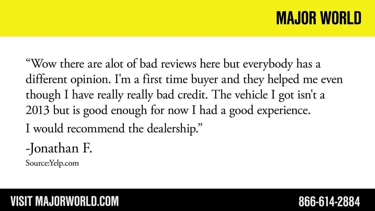 Major World REVIEWS Long Island City Car Dealership
