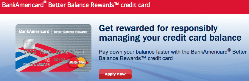 Make Money With The BankAmericard Better Balance Rewards