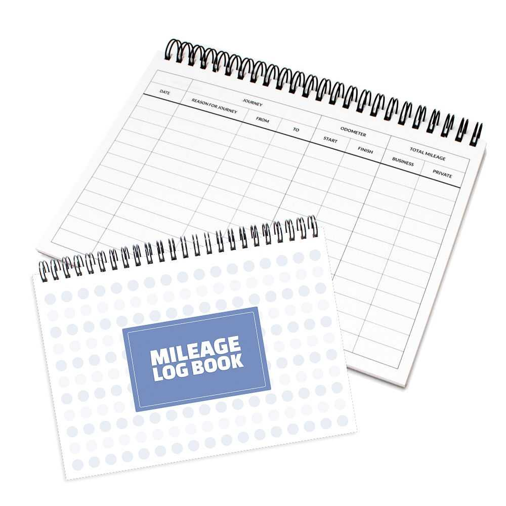 Mileage Log Book Business Vehicle Mileage Tracker Record