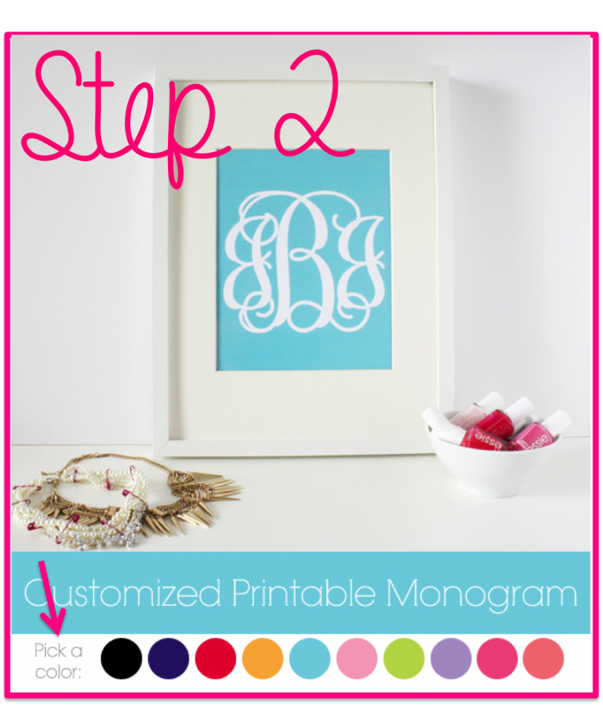 How To Make Monogrammed Stickers The Monogrammed Life