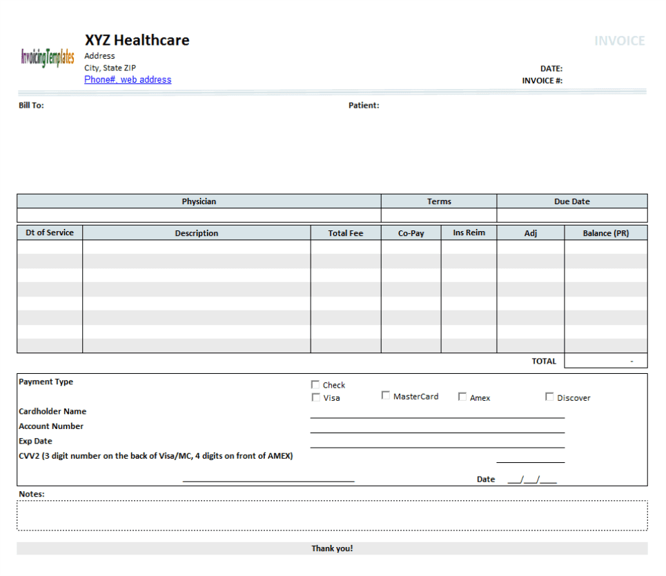 Open Office Invoice Templates Excelxo