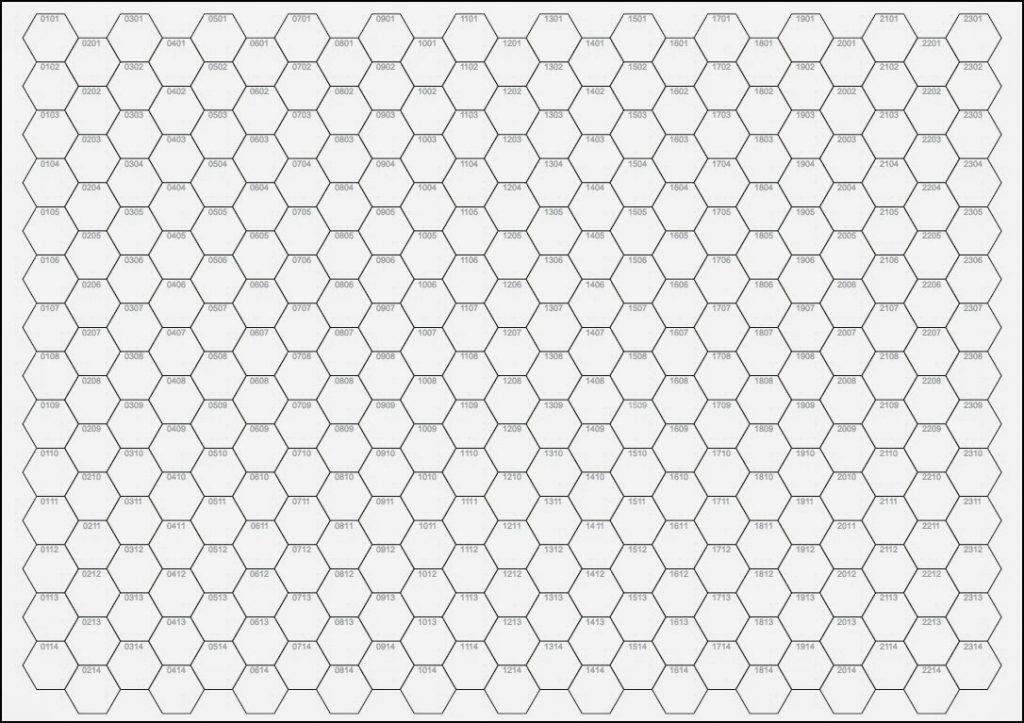 Oubliette Magazine Last 24 Hours Of The Numbered Hex Pad