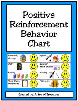 Positive Reinforcement Behavior Chart By A Sea Of