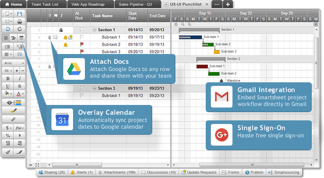 Project Management For Google Apps Smartsheet