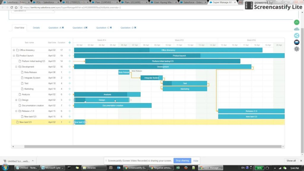 Project Management In Salesforce YouTube