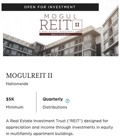 RealtyMogul Review Rating Commissions Platform Compare