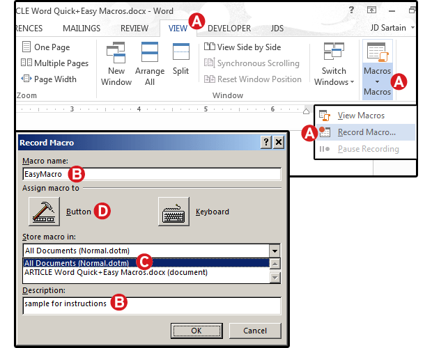 Word Macros Three Examples To Automate Your Documents