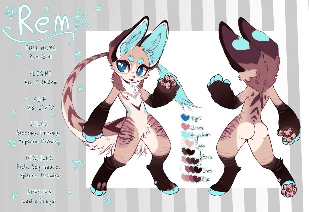 Rem Quill Reference Sheet By Rem Furiffic