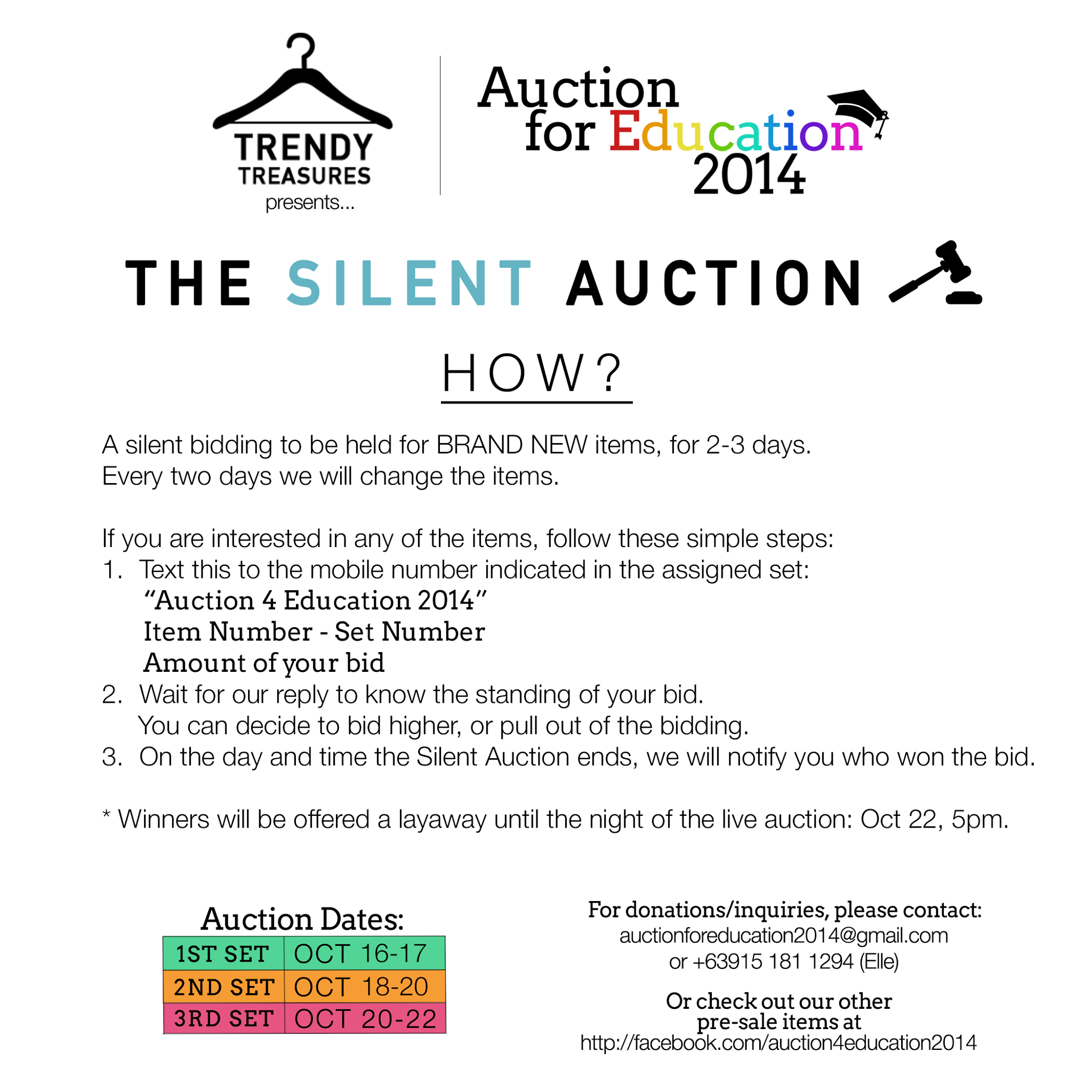 Silent Auction Rules DriverLayer Search Engine