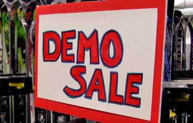 Ski Haus Demo Sale