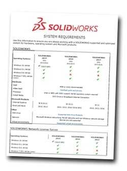 SOLIDWORKS 2019 System Requirements