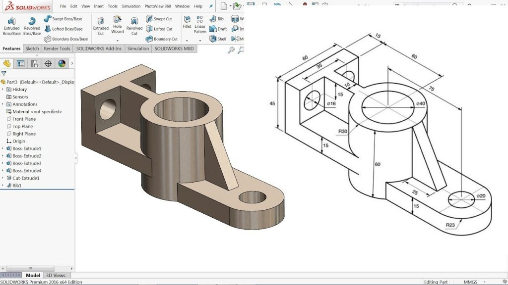 SolidWorks Tutorial For Beginners Exercise 42 YouTube