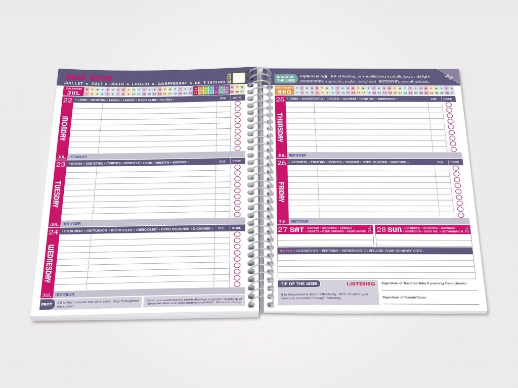 Student Planners Hdc Print And Digital Solution Experts