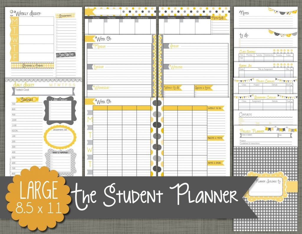 The Polka Dot Posie Our New Student Planners Are Here