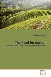 The Need For Capital By Ane Katrine Bislev 2010