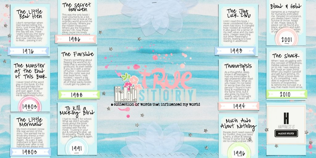 Ideas For Scrapbook Page Storytelling With A Timeline