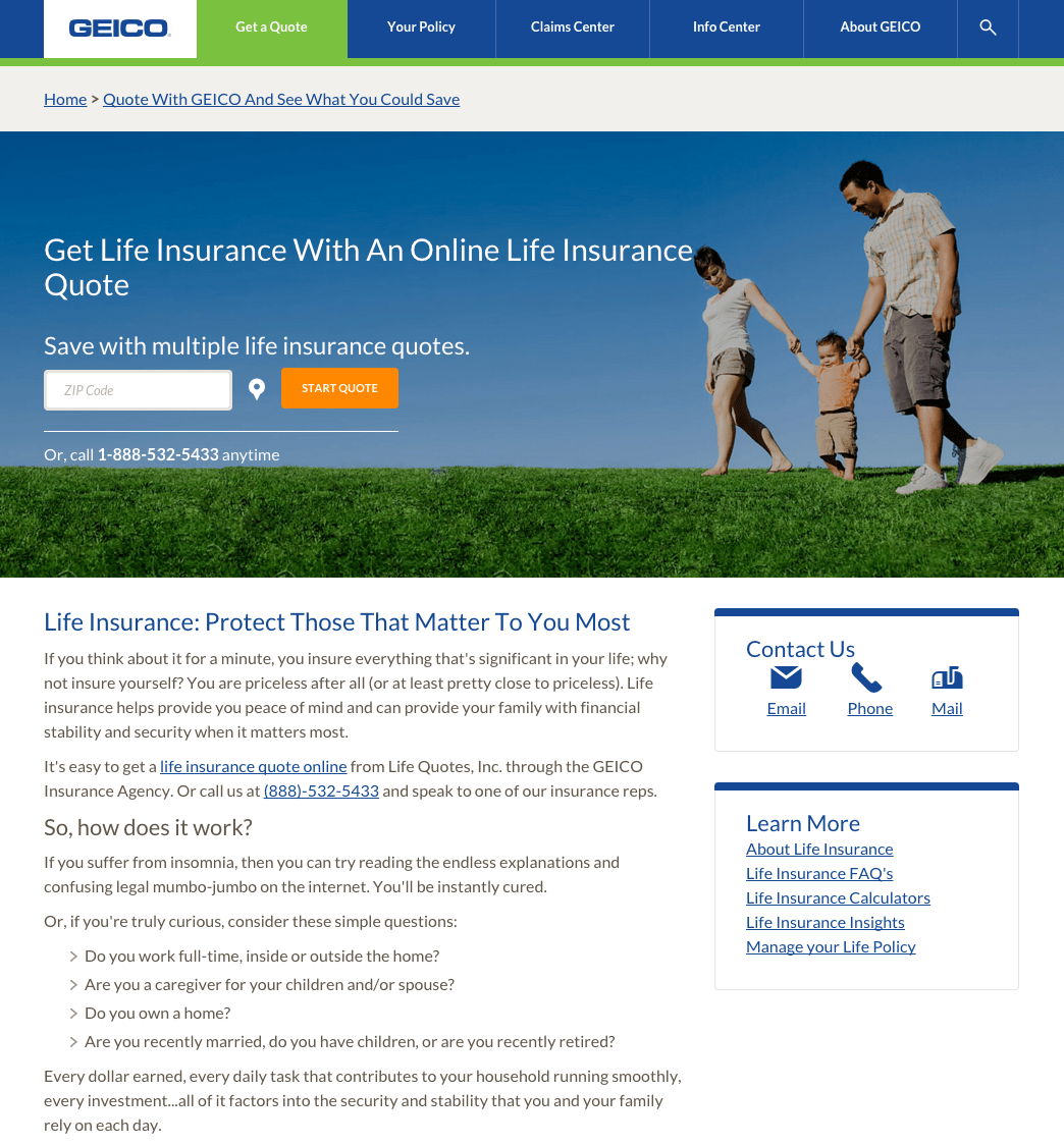 Top 31 Reviews And Complaints About Geico Life Insurance