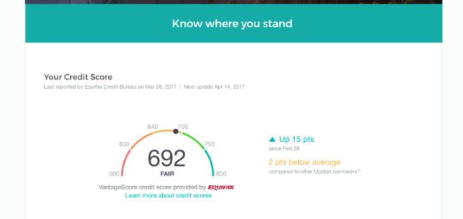 Upstart How Often Will My Credit Score Update