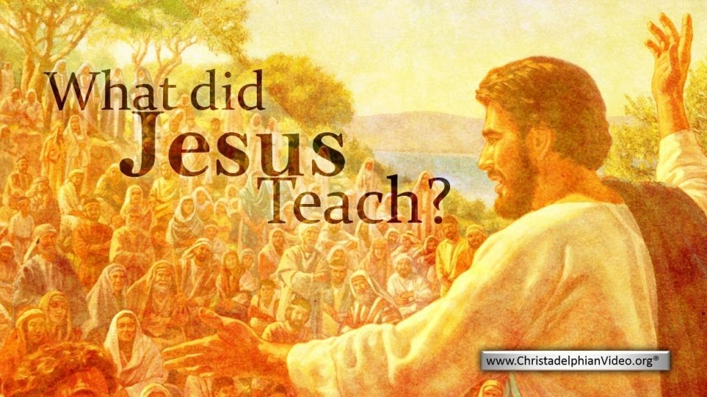 What Did Jesus Teach YouTube