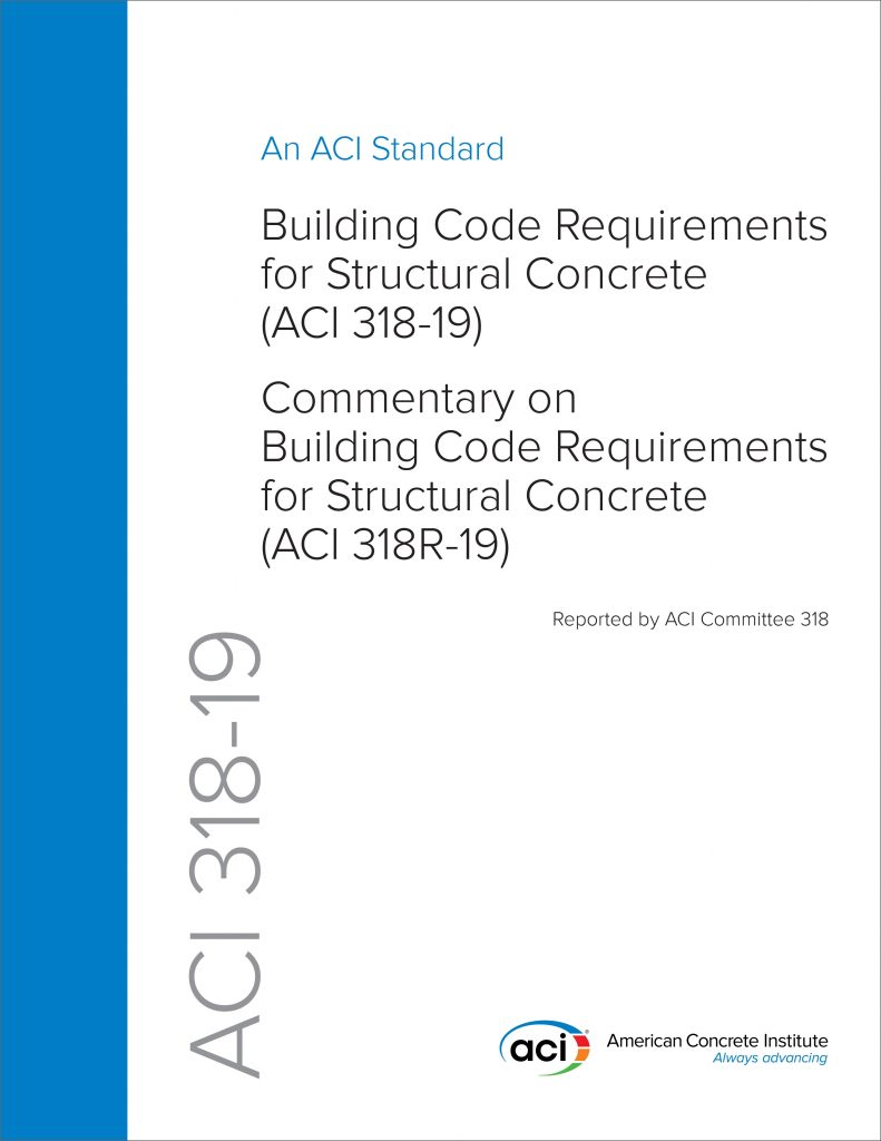 What s New In ACI 318 19 Building Code Requirements For
