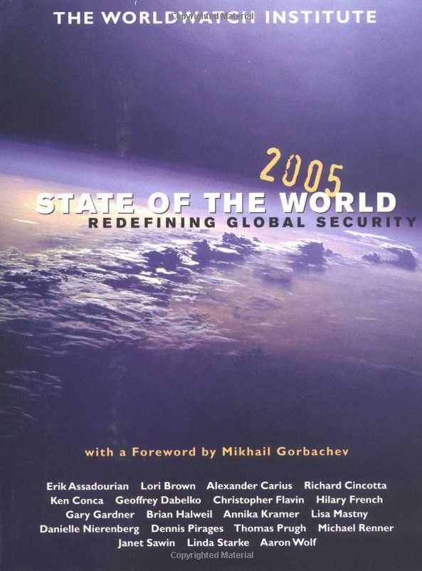 Worldwatch Institute Ed State Of The World 2005