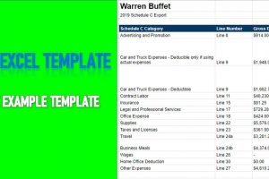 1099 Excel Template