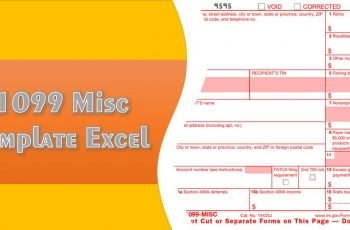 1099 Misc Template Excel
