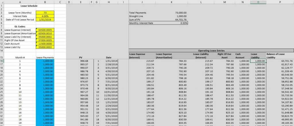 Lease Accounting Excel Template TUTORE ORG Master Of