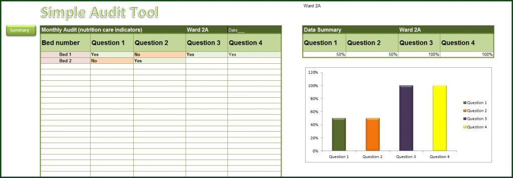 Simple Audit Tool Excel 2013 Online PC Learning
