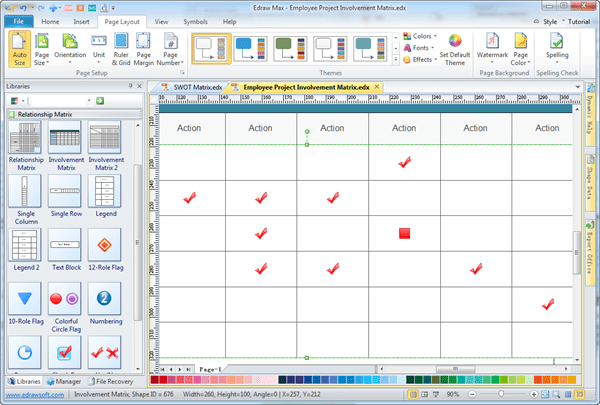 Simple Authority Matrix Maker Make Great looking