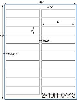 Avery 5161 Word Template Kanza