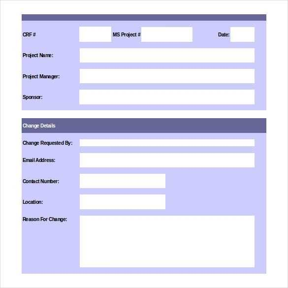 16 Change Order Templates Word Pages Free Premium