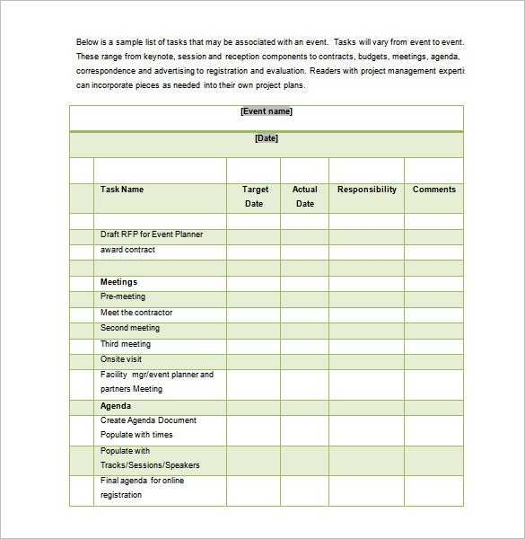 12 Conference Schedule Templates Word PDF Free