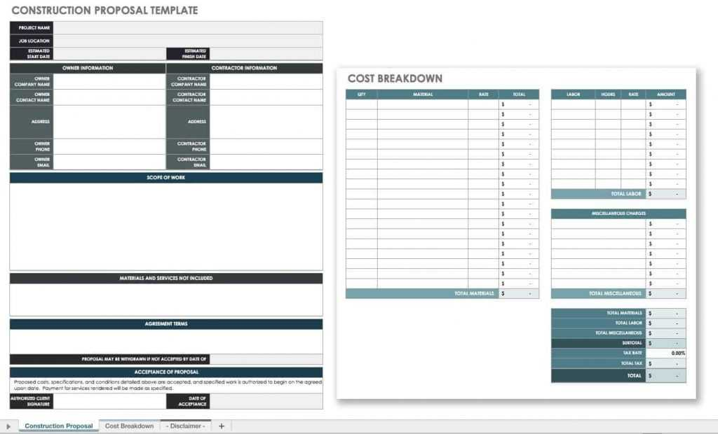 17 Free Project Proposal Templates Tips Smartsheet