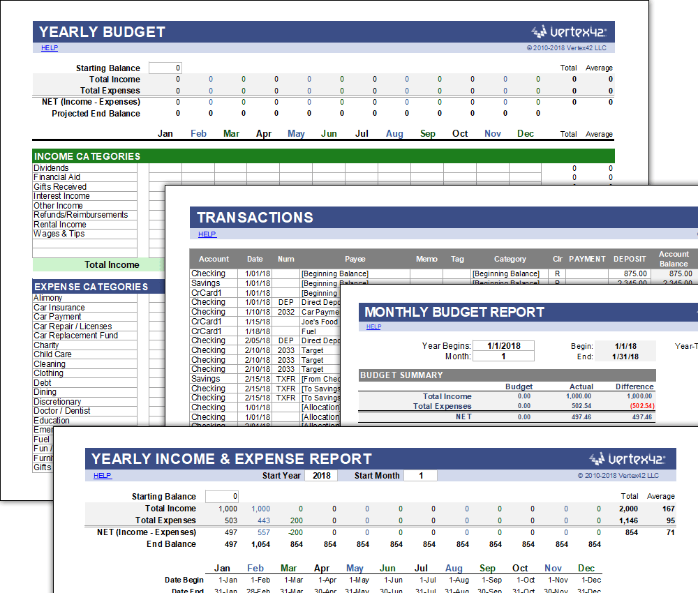The Best Excel Budget Template And Spreadsheets