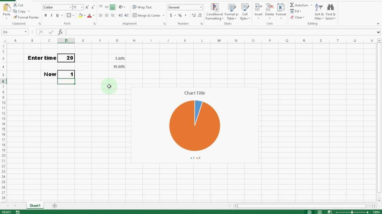Create A Awesome Countdown Timer Clock In Microsoft Excel