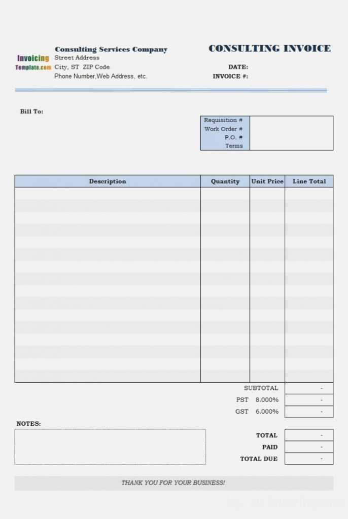 Download Invoice Template For Mac Seven Common AH