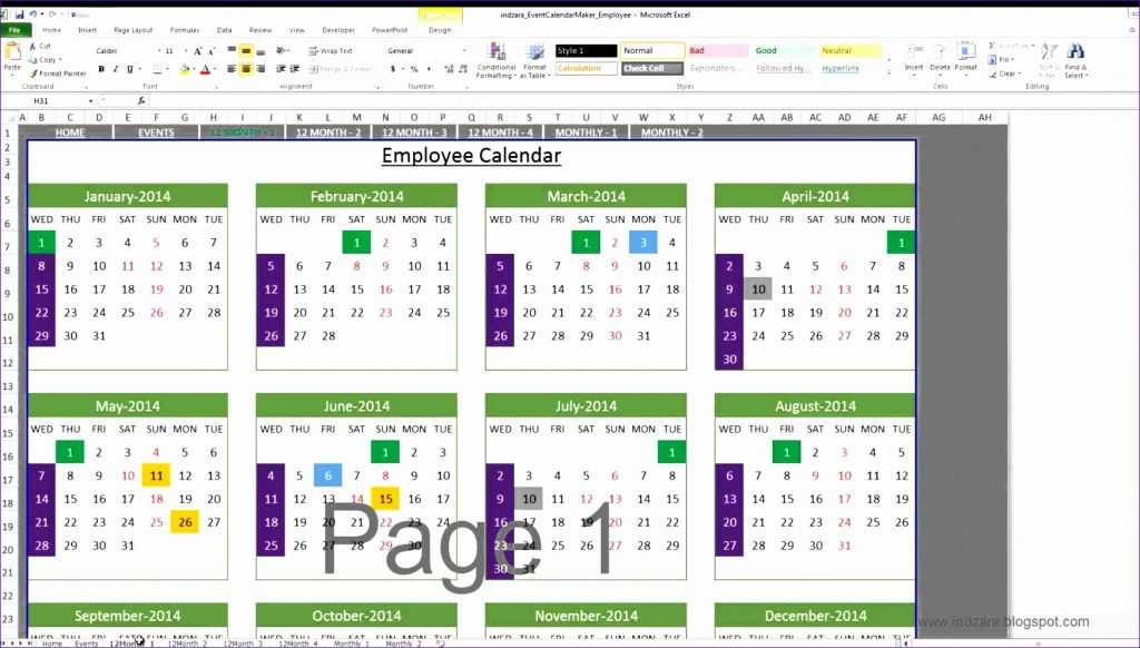 7 Vacation Tracker Excel Template Excel Templates