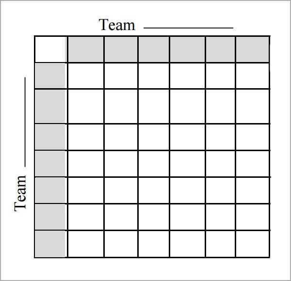 Football Squares Template Excel Template Business
