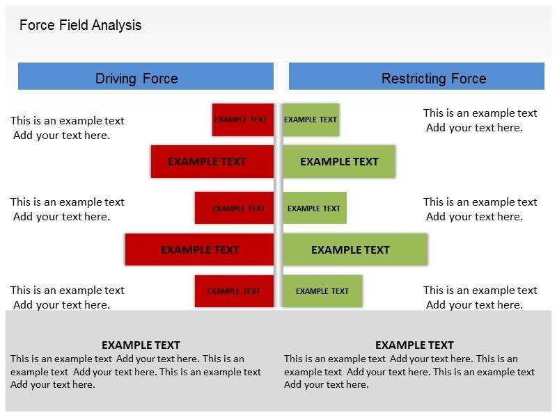 6 Force Field Analysis Templates Word Excel Templates