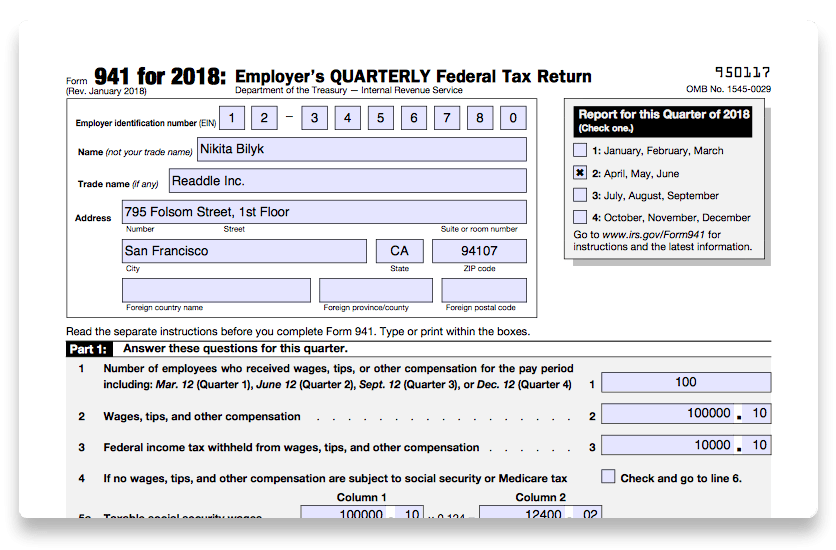 How To Complete Form 941 In 5 Simple Steps
