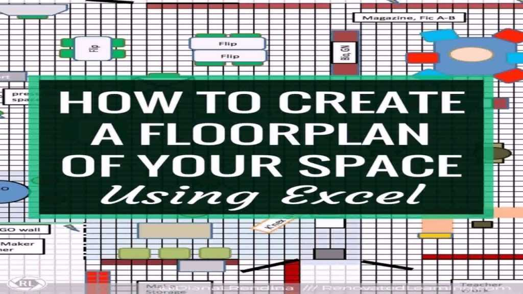 Office Floor Plan Excel Template YouTube