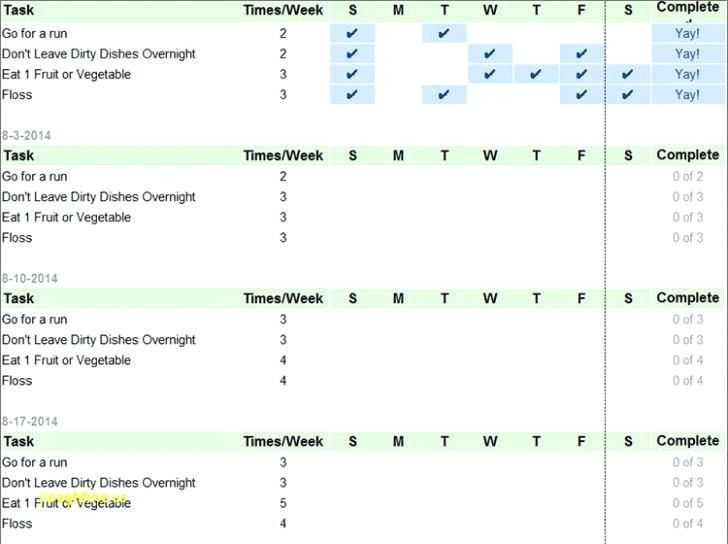 Goal Setting Template Excel With Images Goal Setting
