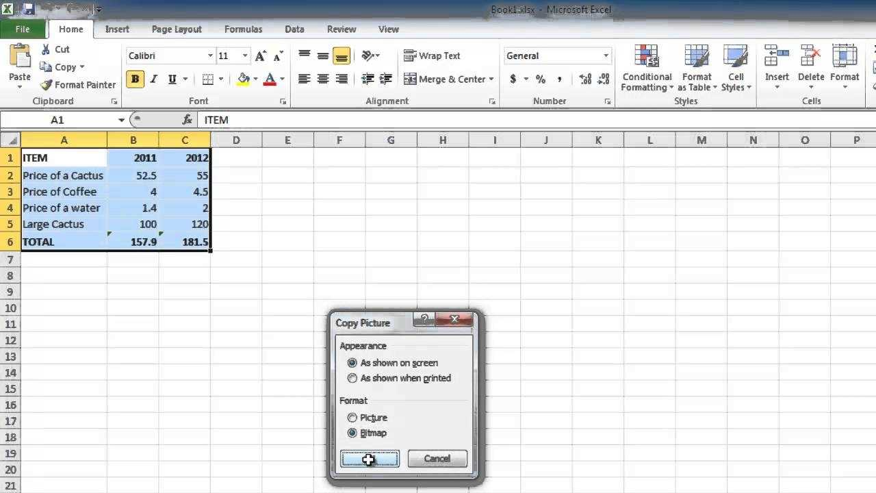 How To Copy Excel 2010 Sheet Into Email YouTube