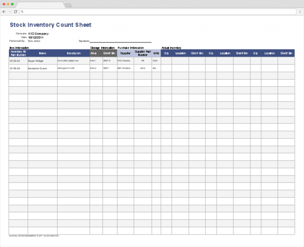 Top 10 Inventory Excel Tracking Templates Sheetgo Blog