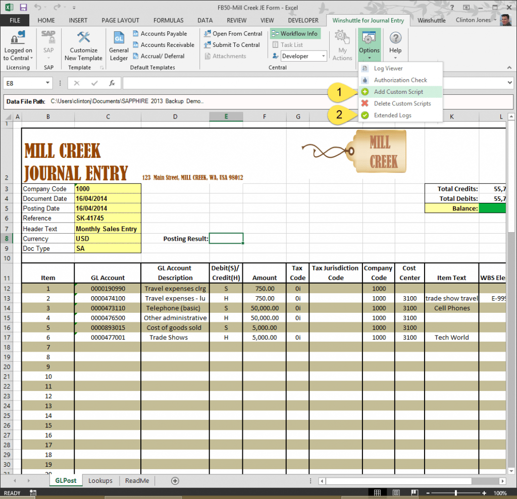 The No 1 Excel Manual Journal Upload Tool For SAP